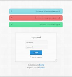 Login Form with Validation