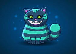 Cheshire Cat Vector from Alice in Wonderland
