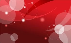 Vector Abstract Red Card Background