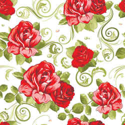 Floral seamless pattern background