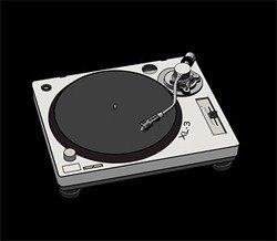 Disc player DJ Vinyl