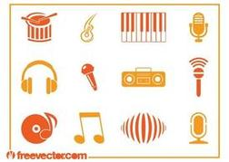 Music Icons Vectors