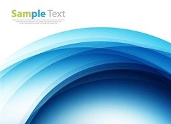 Blue Design Abstract Background