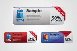 Special Offer & Discount Price Tag Template (Free)