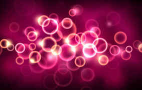 Vector Pink Growing Light Background
