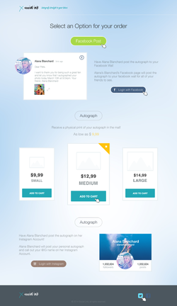Social link Template