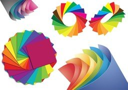 Paper Of Different Colors