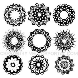 TRIBAL TATTOO SHAPES PACK.eps