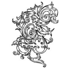 Free Detailed Hand Drawn Floral