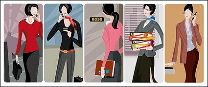 White-collar women
