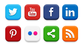20 Popular Social Media Icons (PSD & PNG)