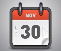 Modern vector of beautiful calendar icon
