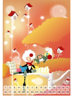 Exquisite South Korea Cartoon Vector Illustration 06