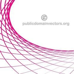 CURVED PINK LINES VECTOR.eps