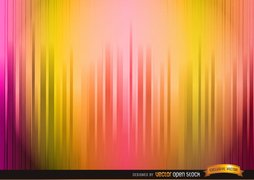 Lighted warm color stripes background