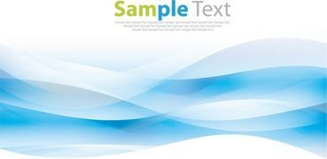 Abstract Blue Background Vector Artwork