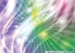 Abstract Glow Background