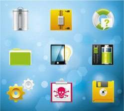 Free Vector System Administration Icons