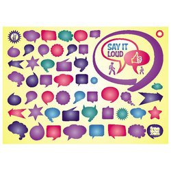 THOUGHT BUBBLES FREE VECTOR PACK.eps