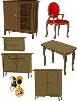 A Variety Of Furniture Furniture