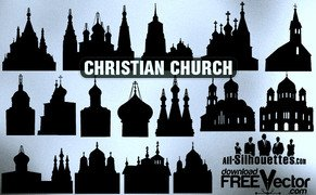15 Vector christian church