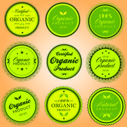 Organic Elliptical Product Sticker Pack