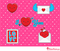 Free Valentine Vector Graphics Kawaii Style