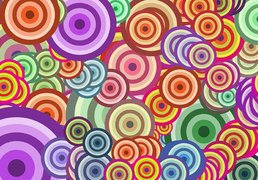 Free Vector Wallpaper - Circle
