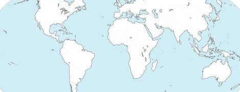 World Continental Map