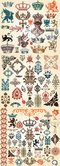 European Classic Pattern Totem Vector European-style Lace Crown