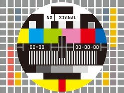 Television Test Screen No Signal
