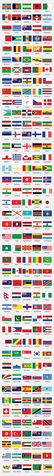 Free World Flags in