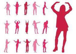 Women Moving Their Hands