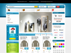 Free E-Commerce Web Site[.PSD]
