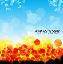 Colorful Vector Background Graphic Design