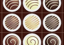 Box of Chocolate Vectors