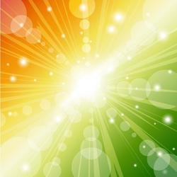 COLORFUL SUNBEAMS VECTOR GRAPHICS.eps