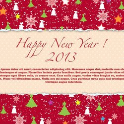 HAPPY NEW YEAR 2013 VECTOR DOWNLOAD.eps