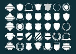 Vector Crest and Shields