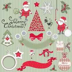 Christmas 2013 labels templates