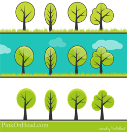 Tree Vector Set Free to Download
