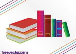 Colorful Books Graphics