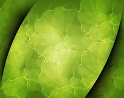 Abstract Green Art Background