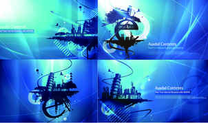 Blue Vector backgrounds