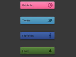 HTML + CSS3 Icons