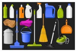 clean equipment icons