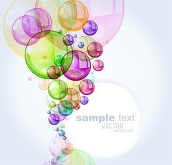 Colorful Bubbles Background