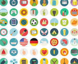 60 Free Flat Icons from roundicons.com