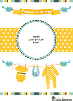 Free Baby Vectors to Welcome Your Little Man's Arrival