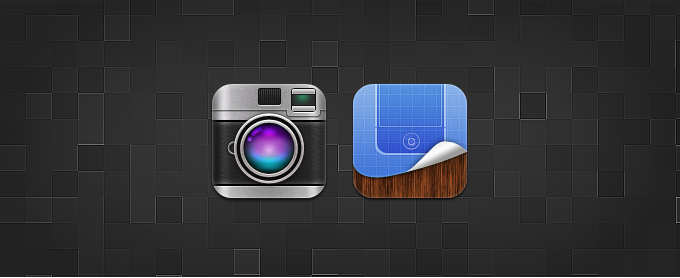 Camera and Winterboard Replacement Icons